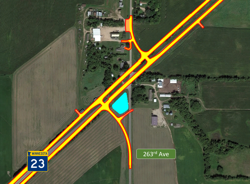 263rd Ave Intersection – Offset T